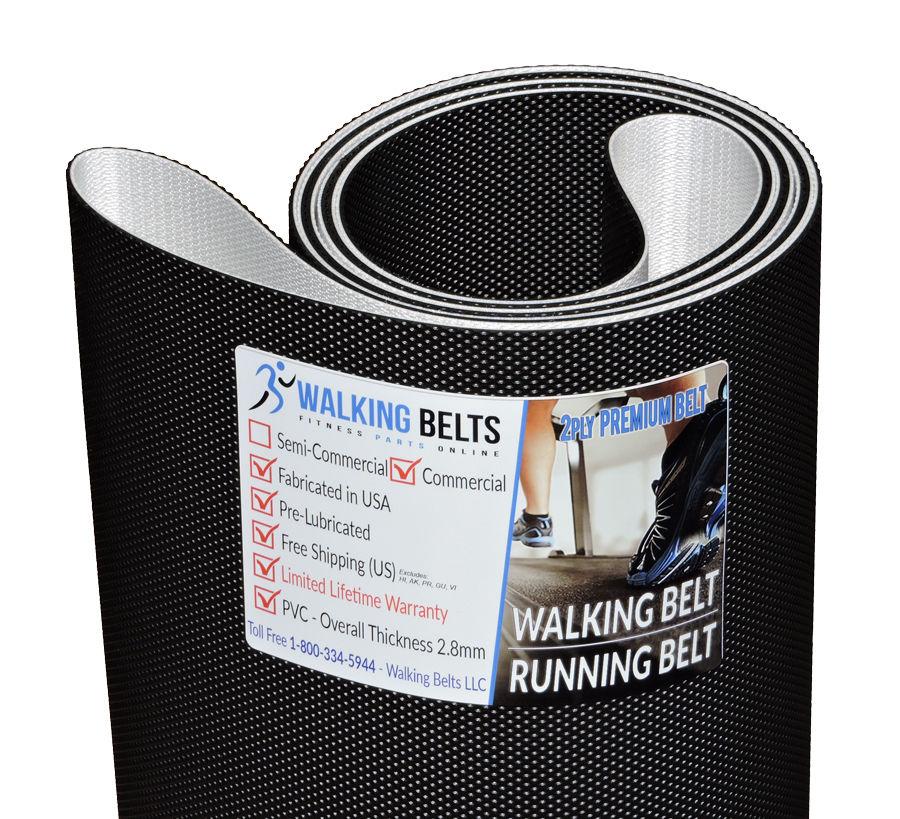Precor 9.35 S/N: AJND Treadmill Walking Belt 2ply Premium